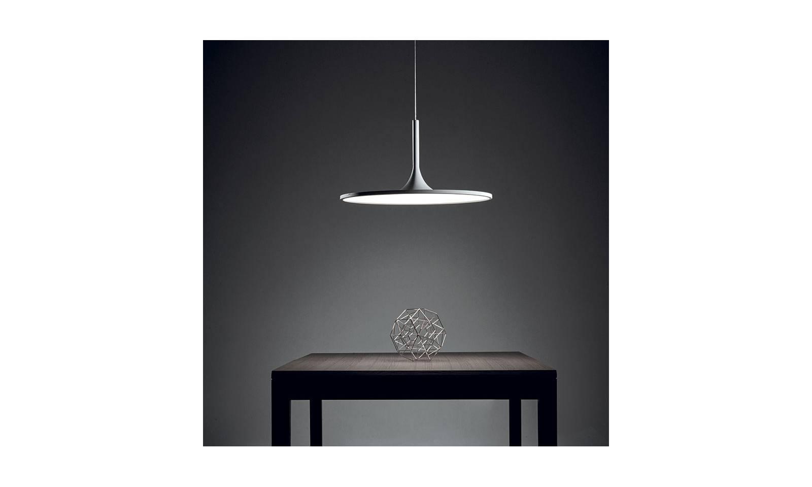 Plafoniera A Led Da 150 Cm : Vivida led pendelleuchte aus aluminium und acryl halo serie