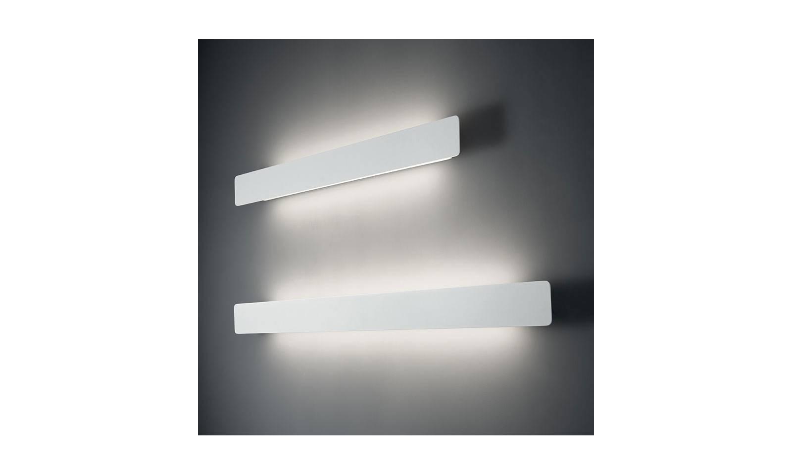 Applique vivida led in alluminio e acrilico serie line