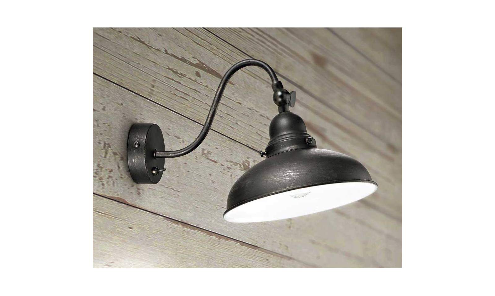 Perenz wall lamp black