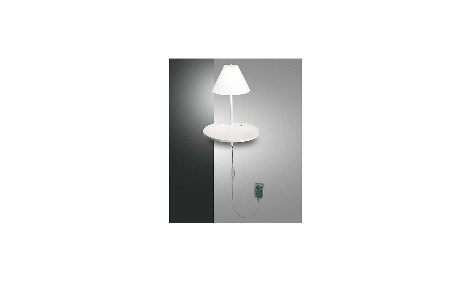 Fabas luce led wall lamp goodnight