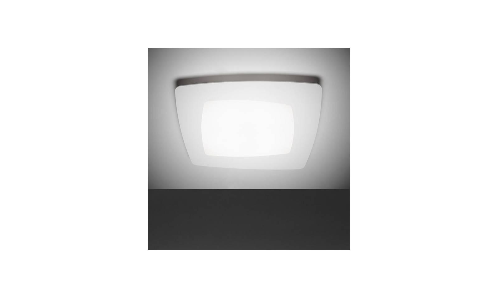 Plafoniera Da Esterno Quadrata : Sforzin illuminazione plafoniera debra quadra