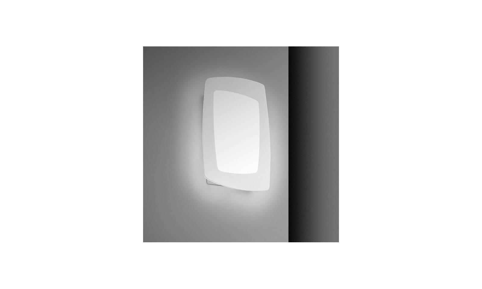 Sforzin illuminazione applique o plafoniera debra rettangolare led