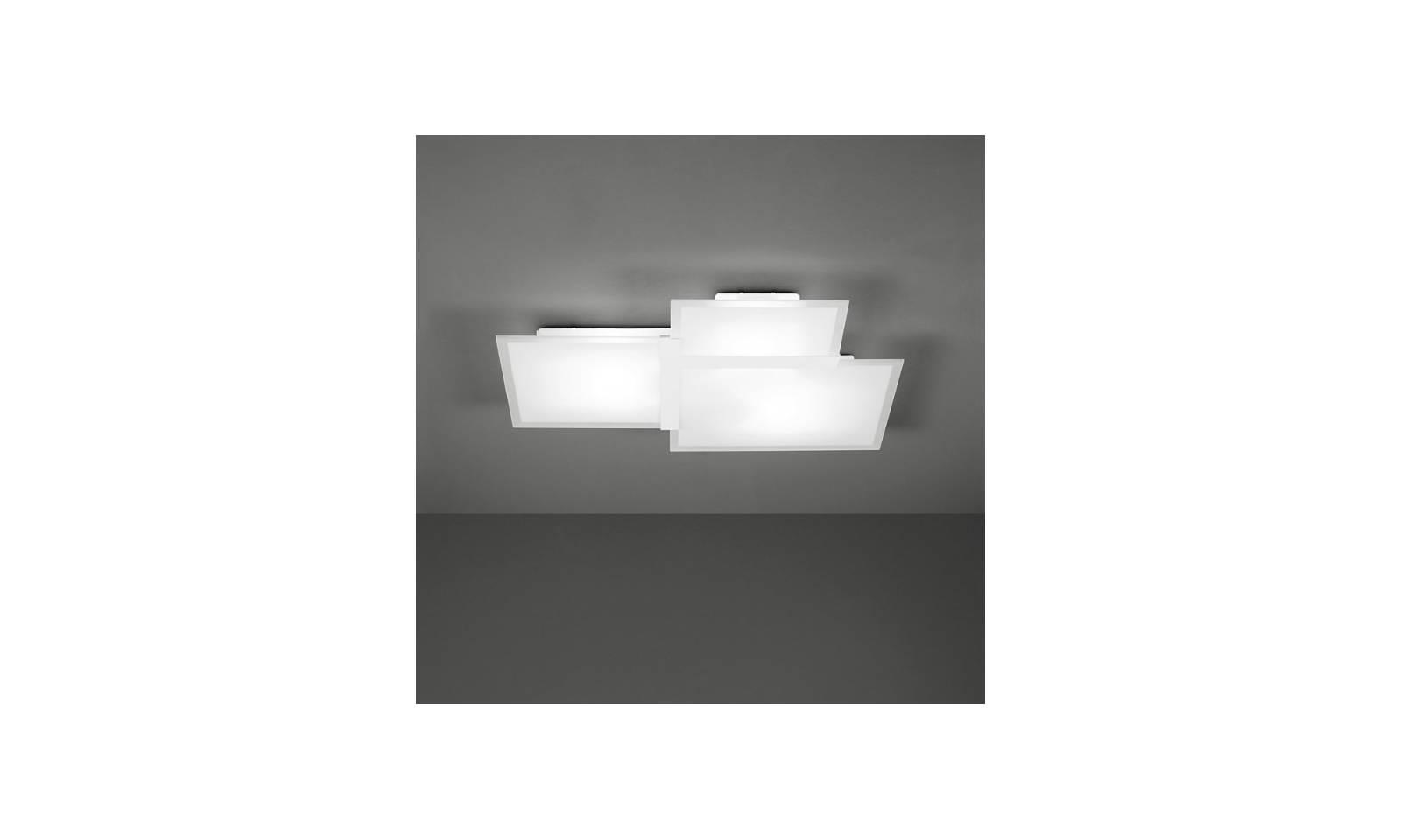 Plafoniere A Soffitto In Gesso : Sforzin beleuchtung deckenleuchte triquadro moderne lampe
