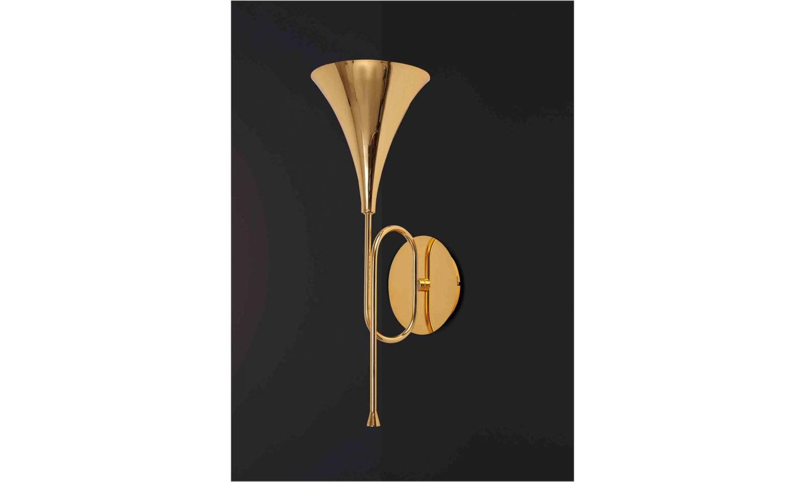 Mantra beleuchtung wandleuchte jazz design lampe
