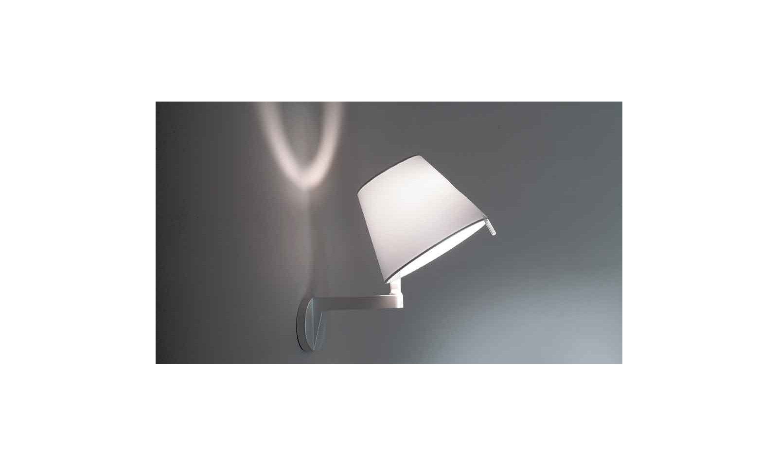 Artemide Melampo Design Wall Lamp With Switch
