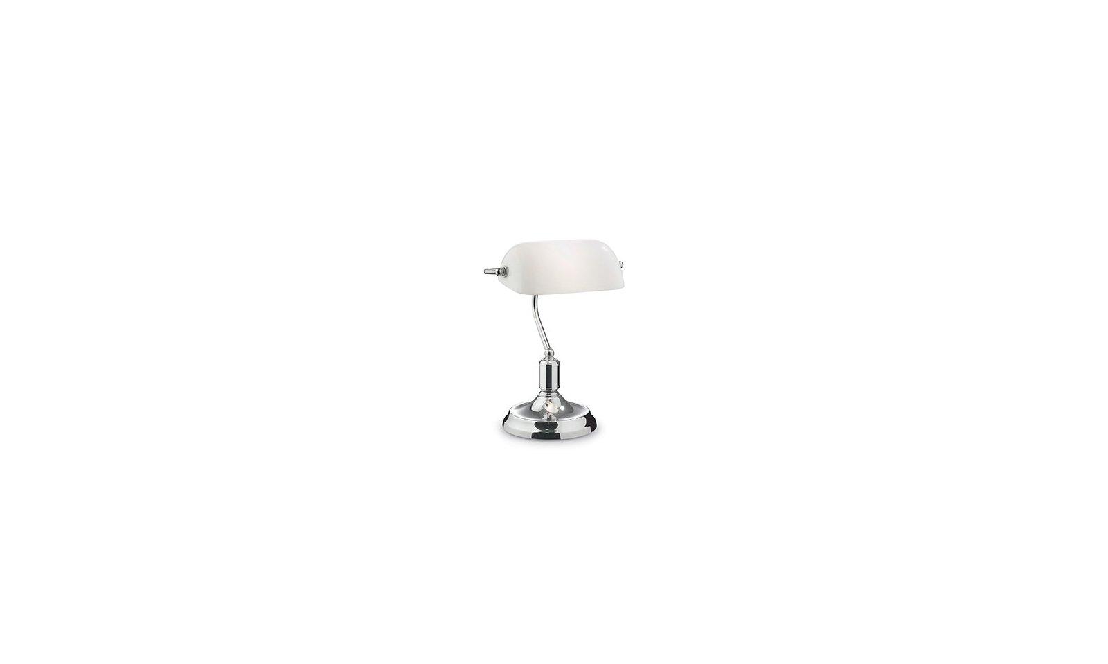 Ideal lux lawyer lampada da tavolo contemporanea in - Ideal lux lampade da tavolo ...