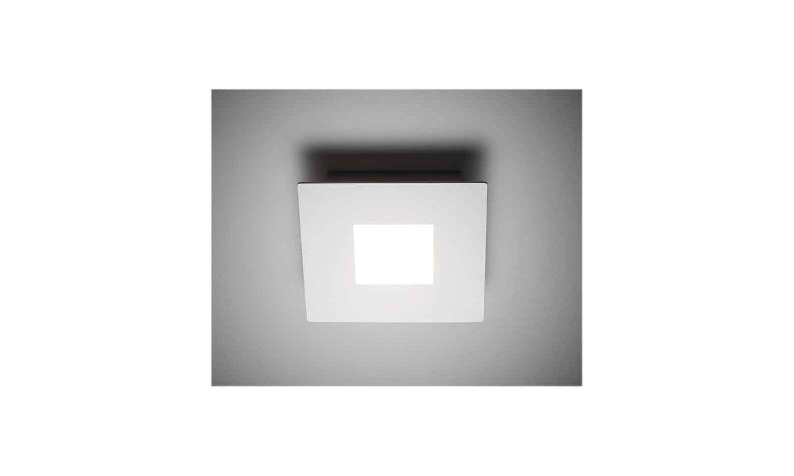 Plafoniere Con Led Integrato : Vivida squares plafoniera led di design moderno in metallo ed acrilico