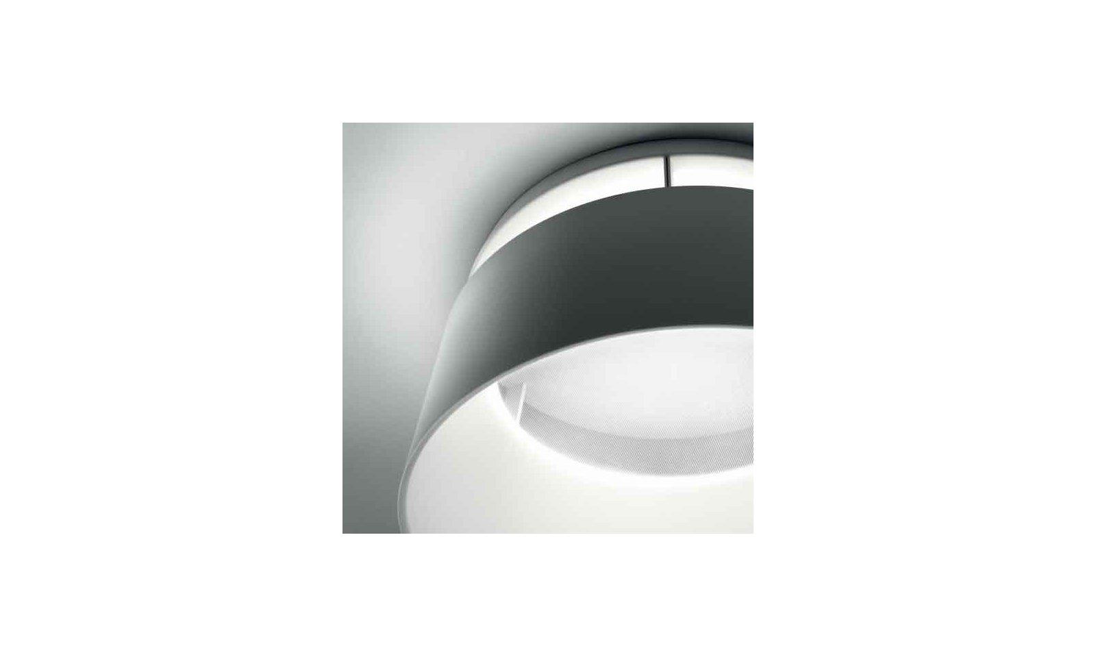 Plafoniera Gialla : Ma de oxygen led plafoniera moderna in pmma e poliuretano colorato