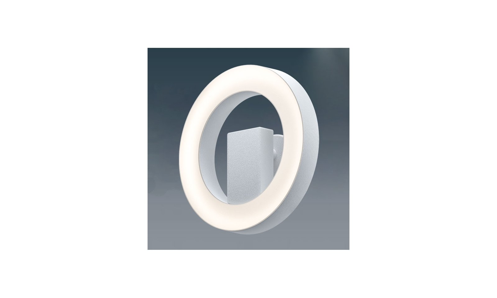 Eglo alvendre led dimmable wall lamp in steel and polycarbonate