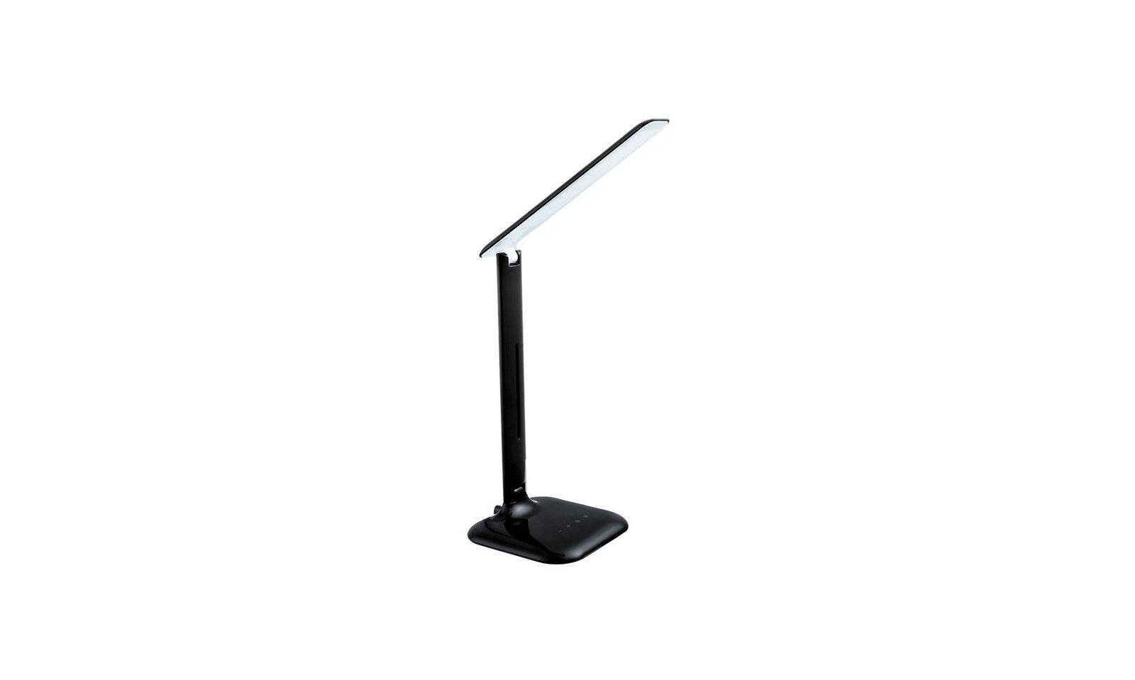 Eglo caupo led lampada da tavolo in acciaio in for Lampada da tavolo a led
