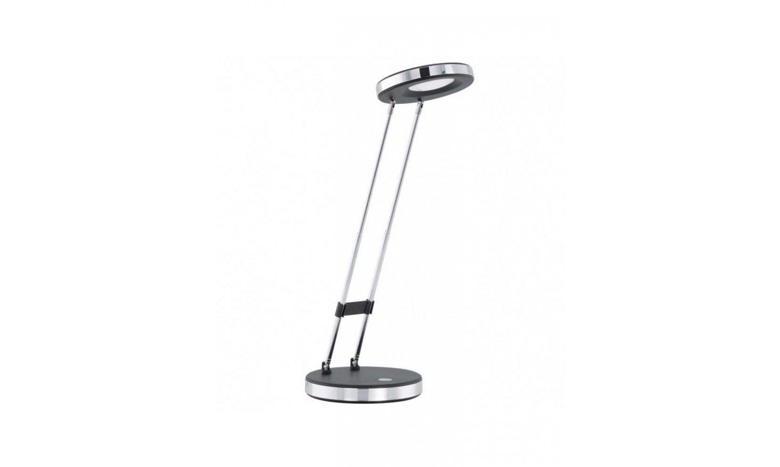 Eglo gexo led lampada da tavolo in acciaio e policarbonato for Lampada da tavolo a led