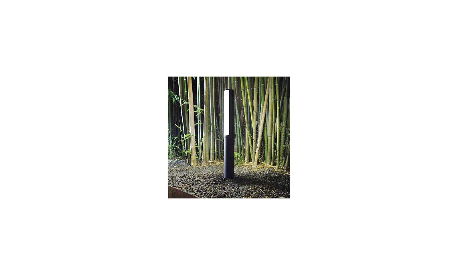 IDEAL LUX ETERE LED piantana da esterno in alluminio e plastica opale