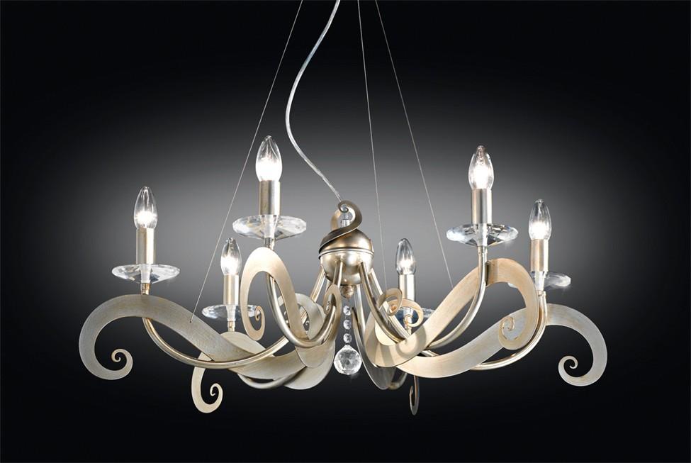 Lampadario Sofia 6 luci di contemporanea