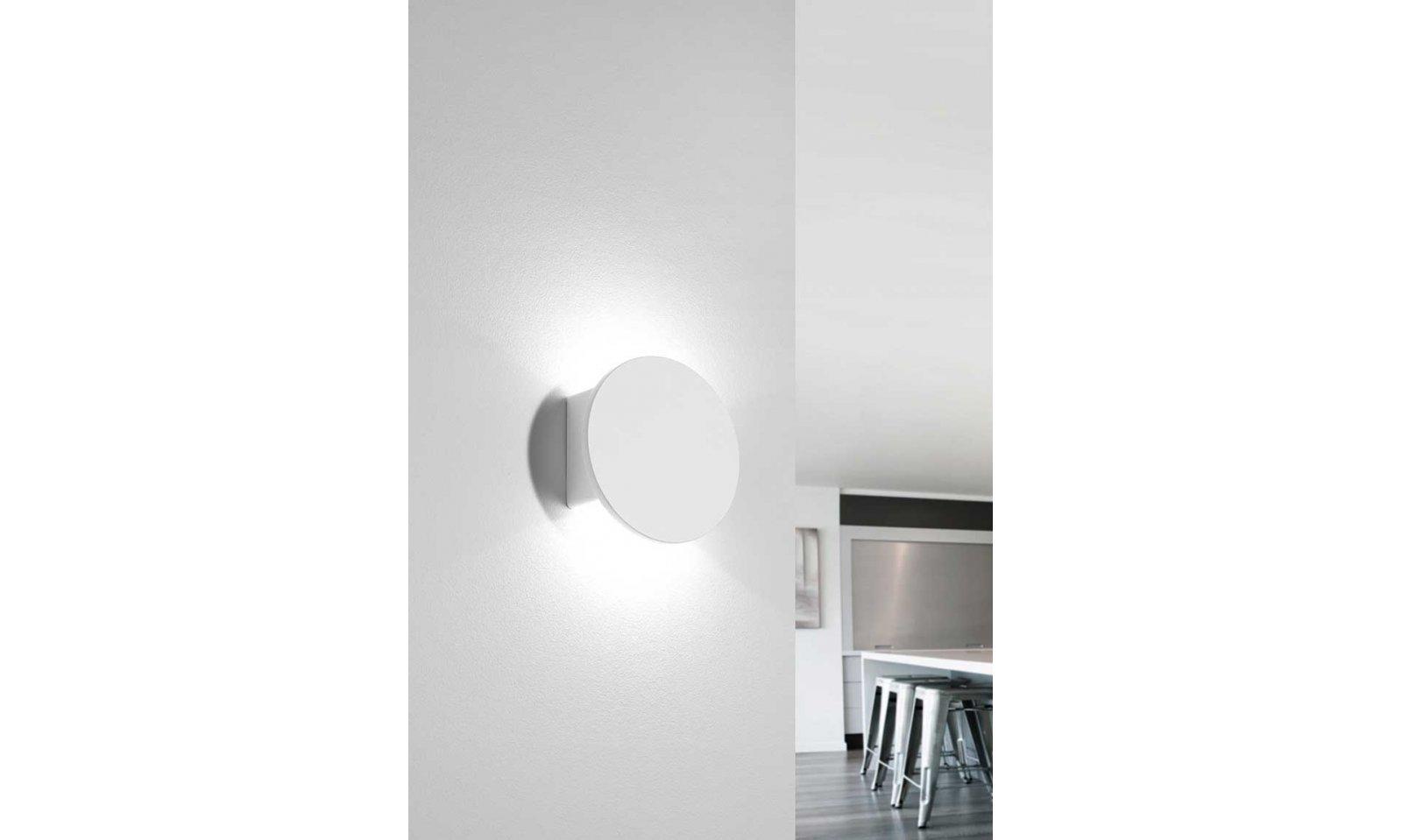 Sforzin illuminazione applique samos modulo led integrato
