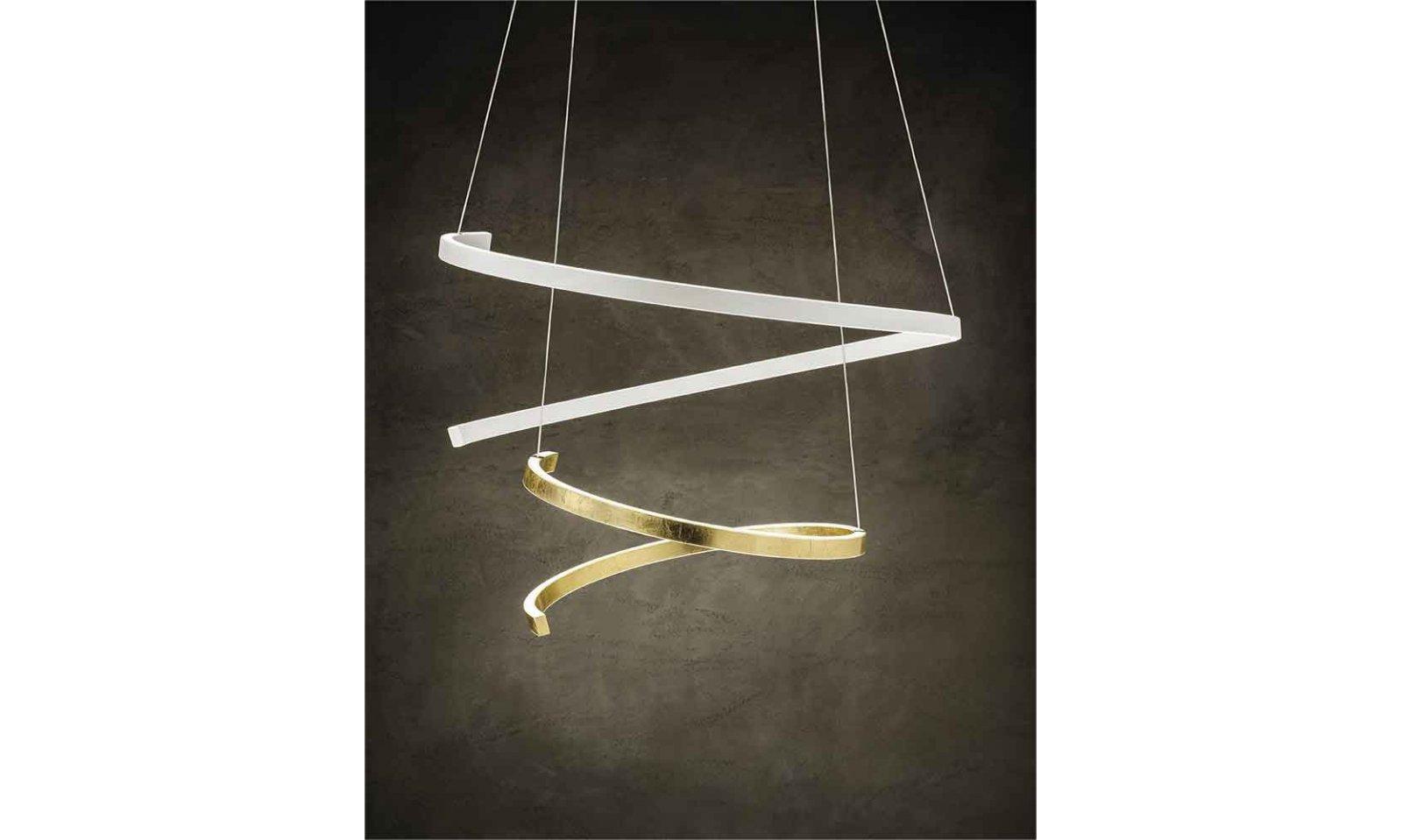 Braga Lighting Led Suspension Spira S110 Modern Suspension Lamp