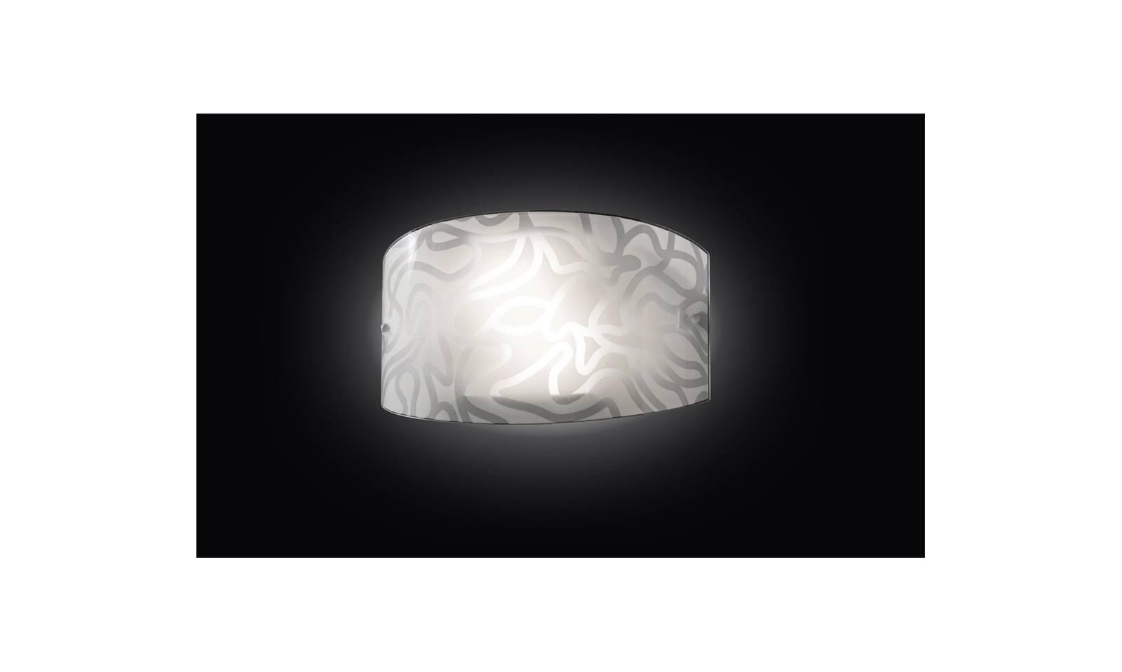 Lampada da parete ventaglio di contemporanea 2 luci led