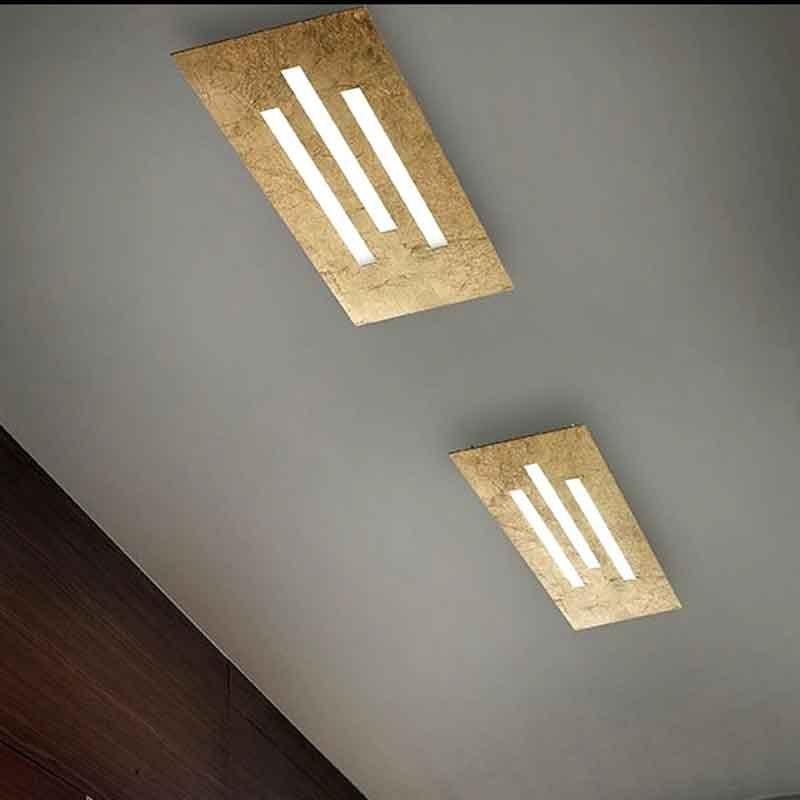 Braga Illuminazione Plafoniera Gamma Led Pl50 Lampada Da Soffitto Led