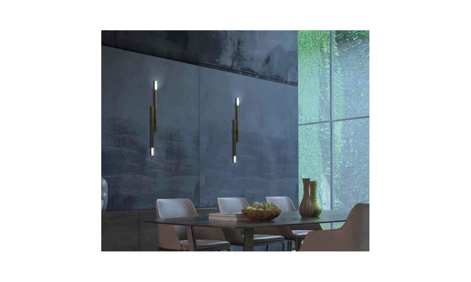Gibas applique zen moderna lampada da parete moderna