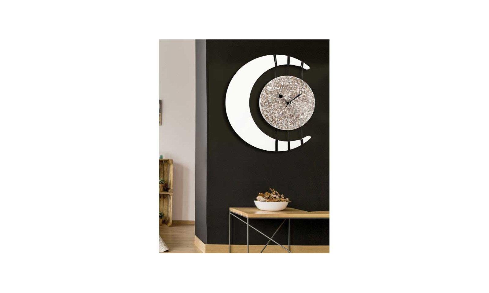 Orologi Da Parete In Tela : Pintdecor orologio da parete eclissi orologio da parete moderno