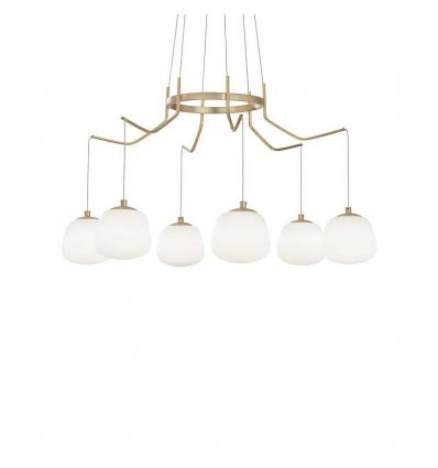 IDEAL LUX SUSPENSION LAMP KAROUSEL LED