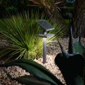 PERENZ BATTERY SOLAR STAND WITH LED SOLAR PANEL FOR OUTDOOR USE