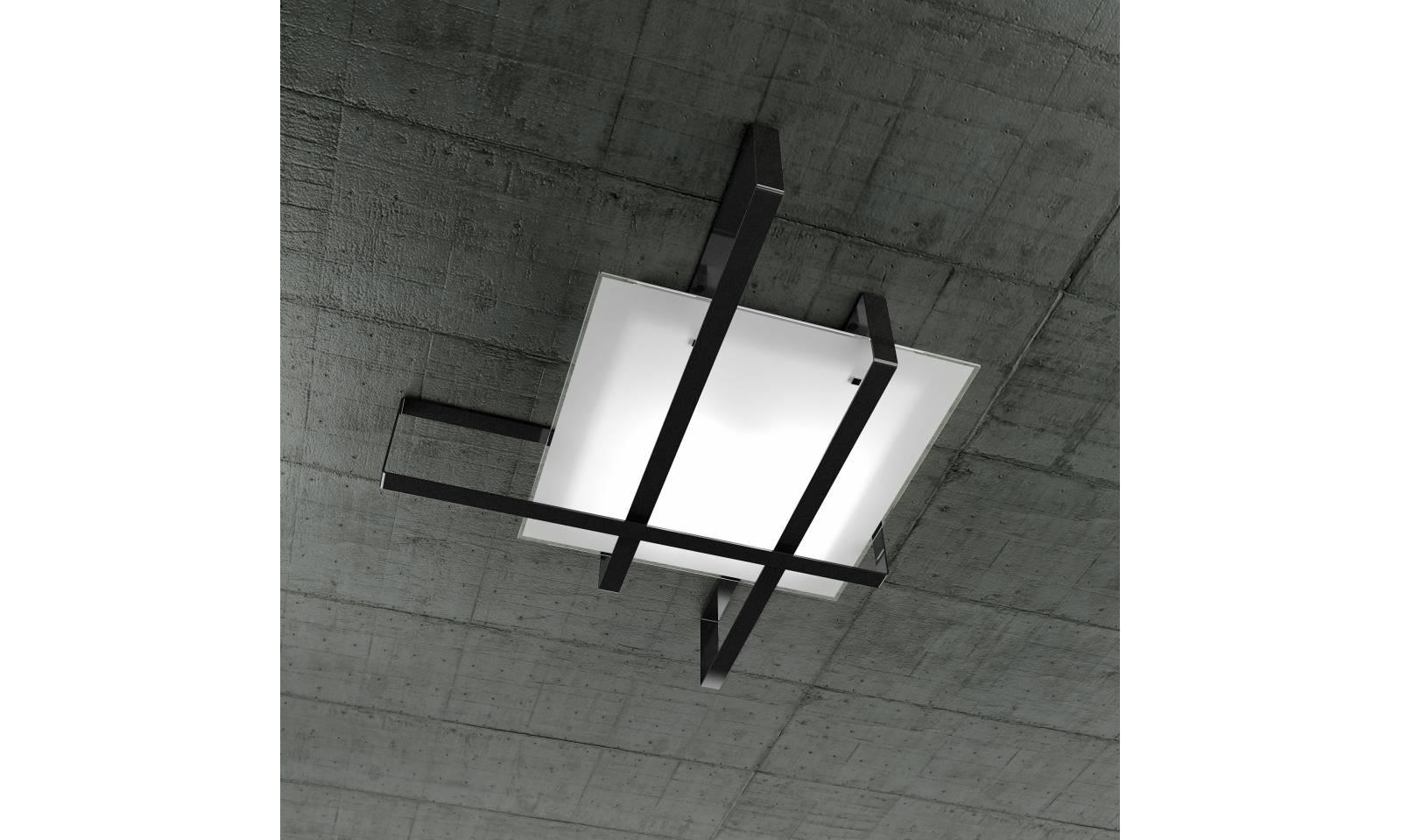 Ceiling Light Crossbar : Top light lights ceiling lamp grande cross