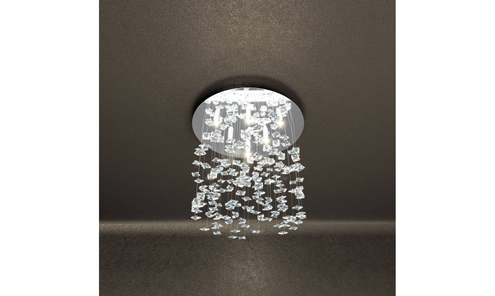Plafoniere In Cristallo Molato : Plafoniere lampade da soffitto materiale cristallo di gea luce