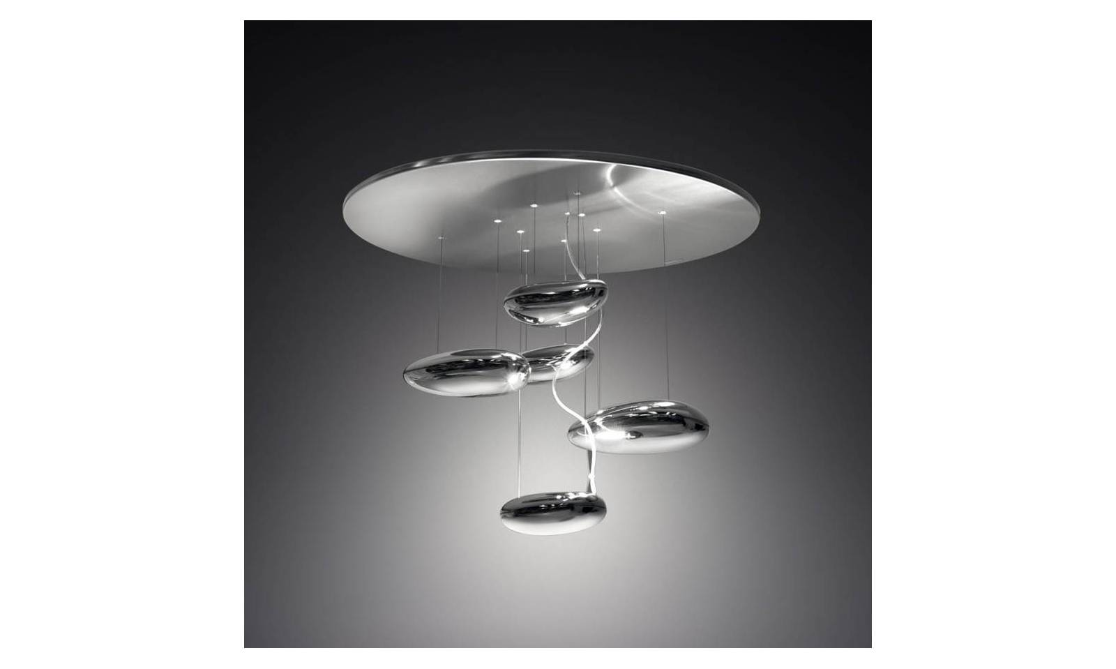 Artemide lampada da soffitto serie mercury mini halo 70cm for Lampade design