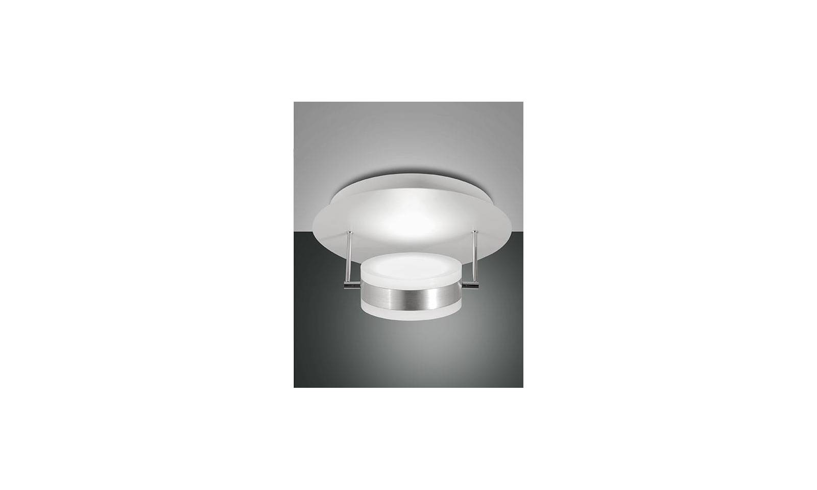 Plafoniera Led 30 Cm : Fabas luce plafoniera serie mabel a led in metallo Ø cm