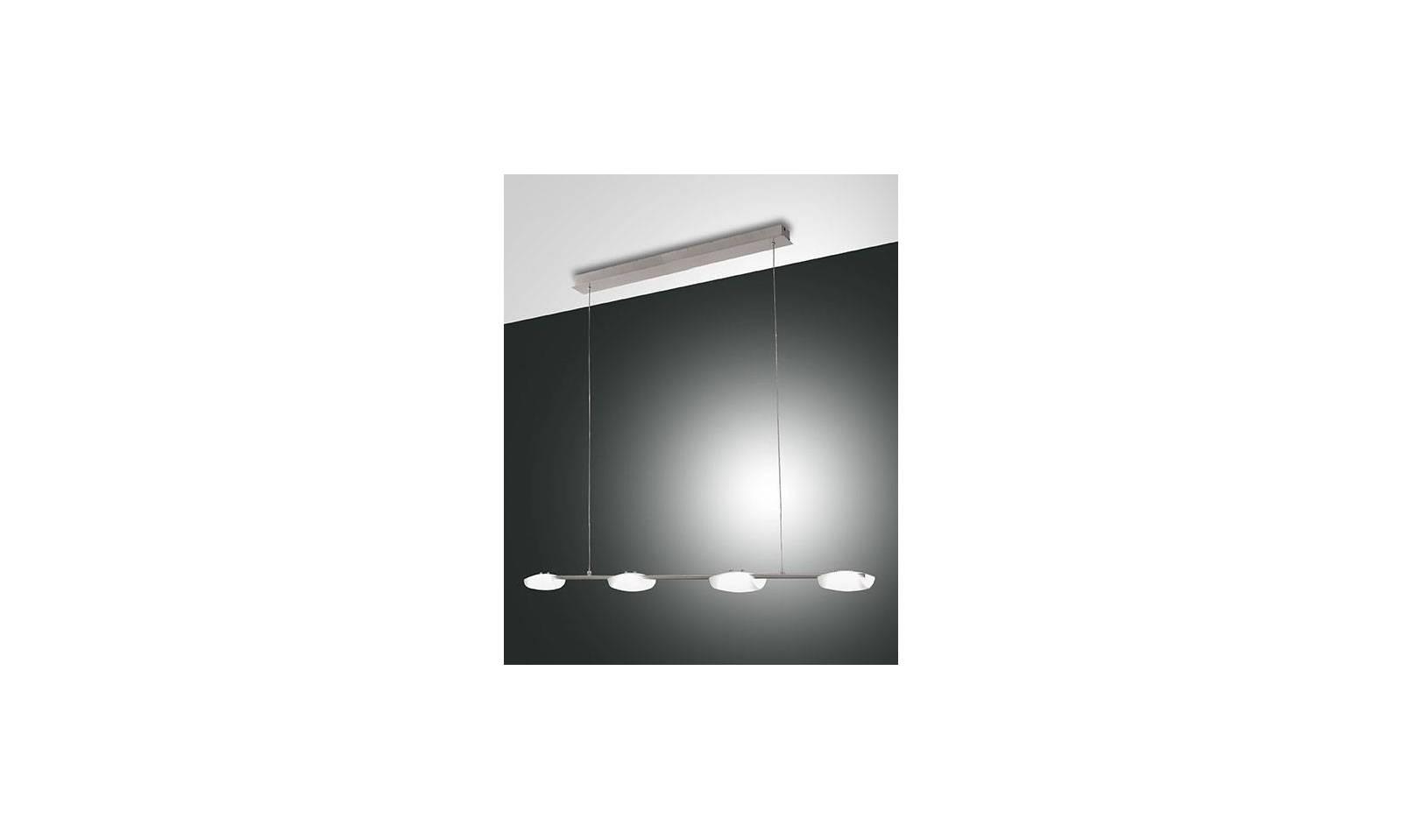fabas luce led suspension lamp roxie 4 lights. Black Bedroom Furniture Sets. Home Design Ideas