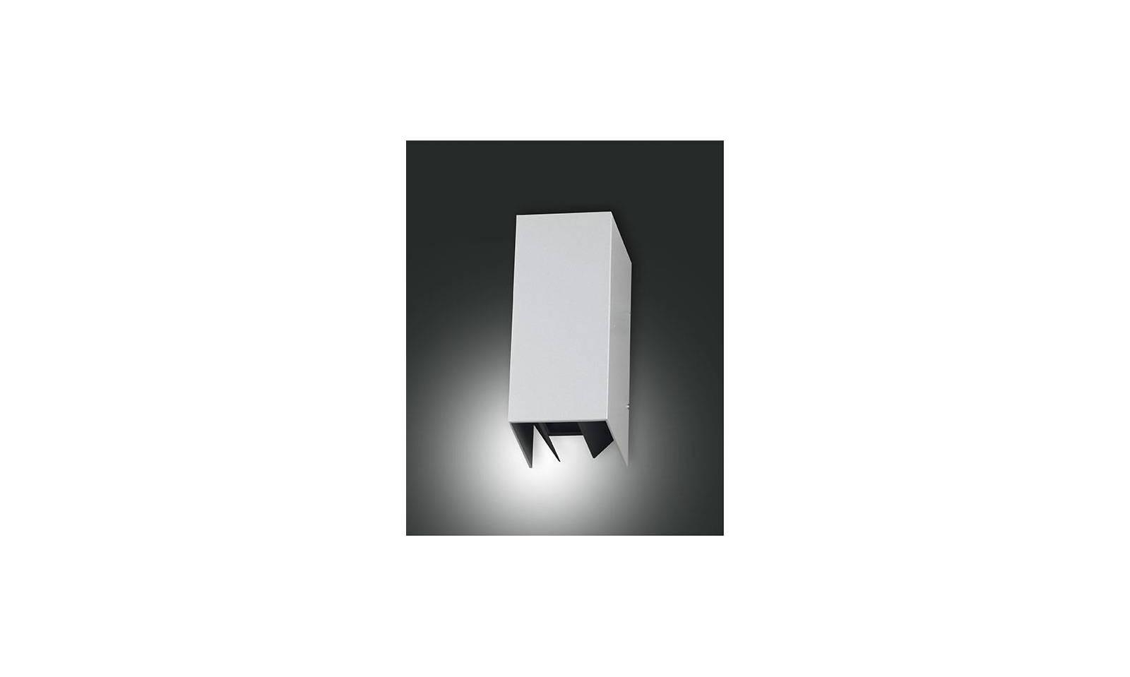 Fabas luce applique da esterno serie zor led in alluminio for Lampade a led vendita online