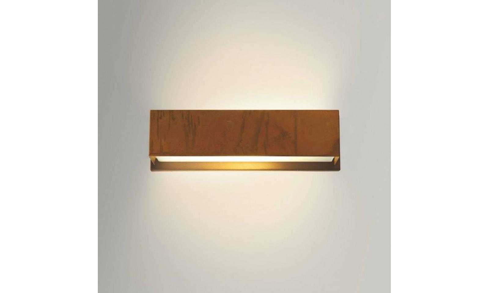 Gibas applique da parete classico serie lola struttura in ottone