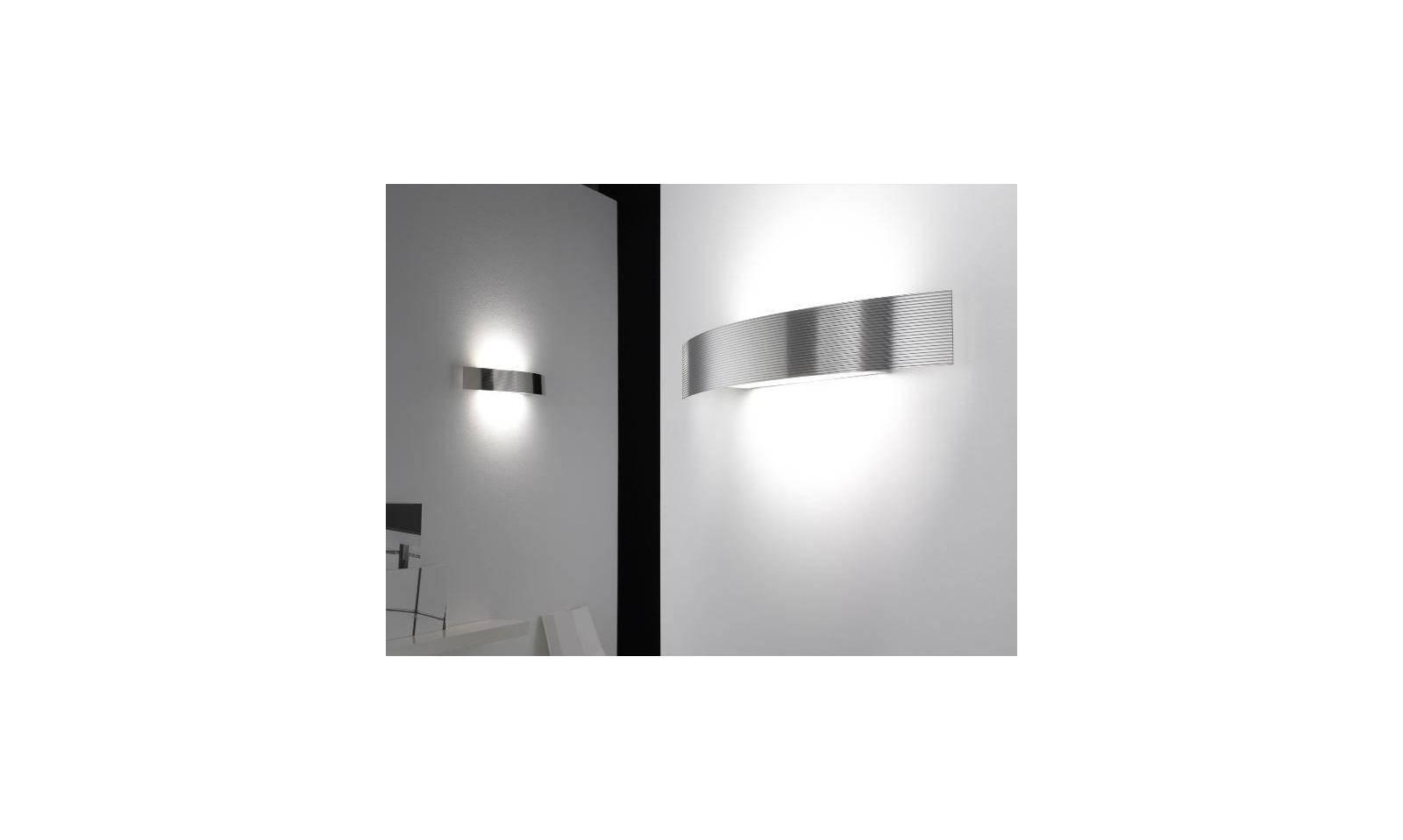 Plafoniere Da Parete Alternative : Selene illuminazione lampada da parete serie bridge in acciaio