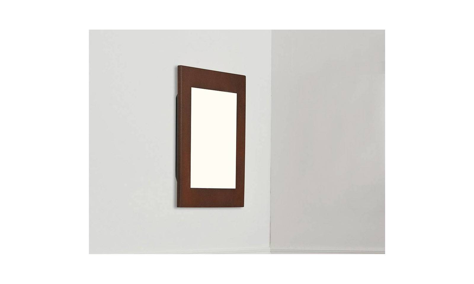 Gibas ceiling or wall lamp square shape victoria led