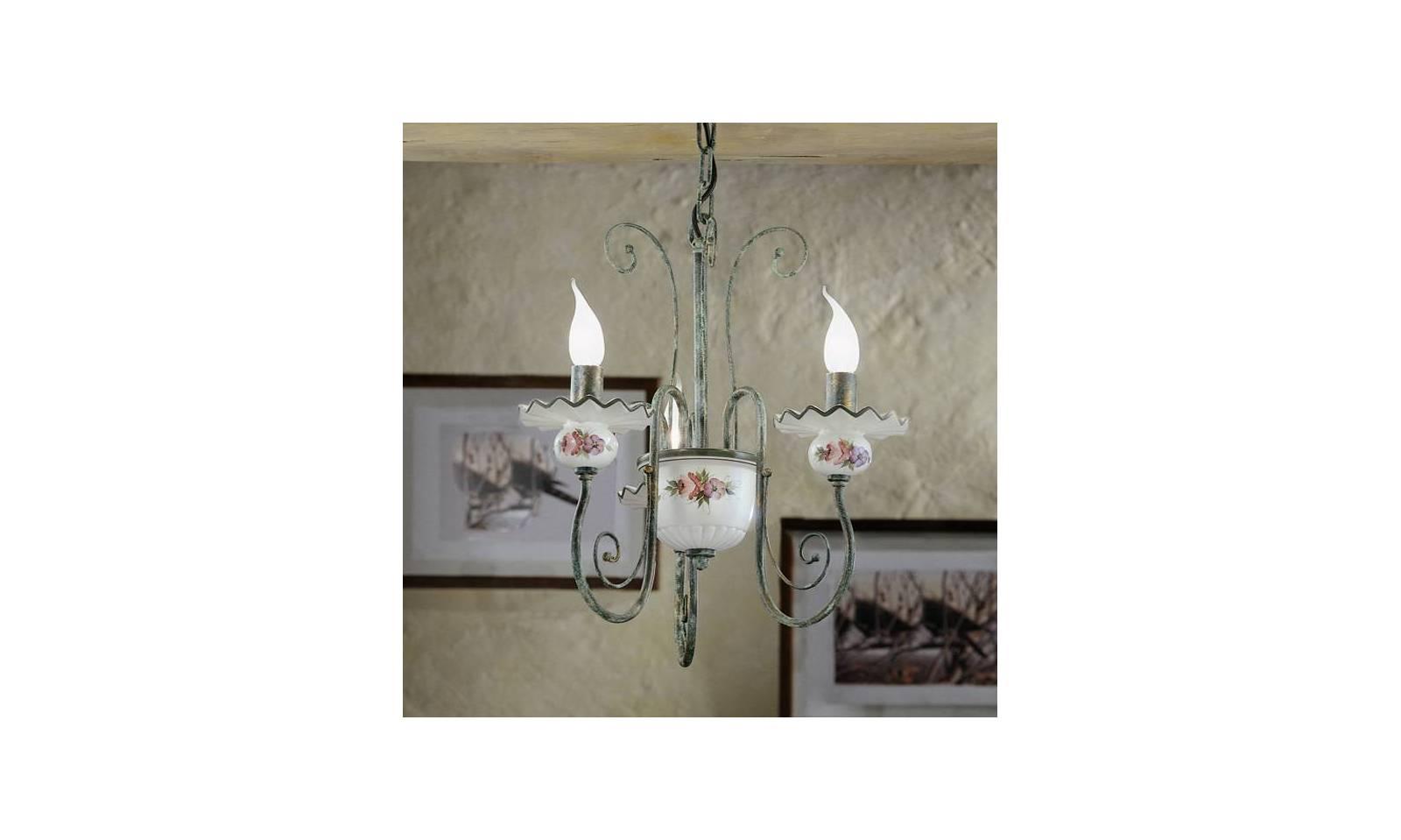 Lampadari rustici in ceramica prezzi lampadari rustici in ferro