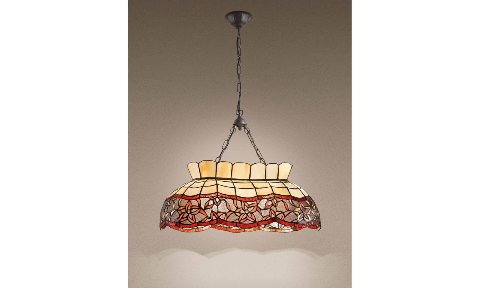 Plafoniere Tiffany : Perenz tiffany rustic suspension lamp t 967 s