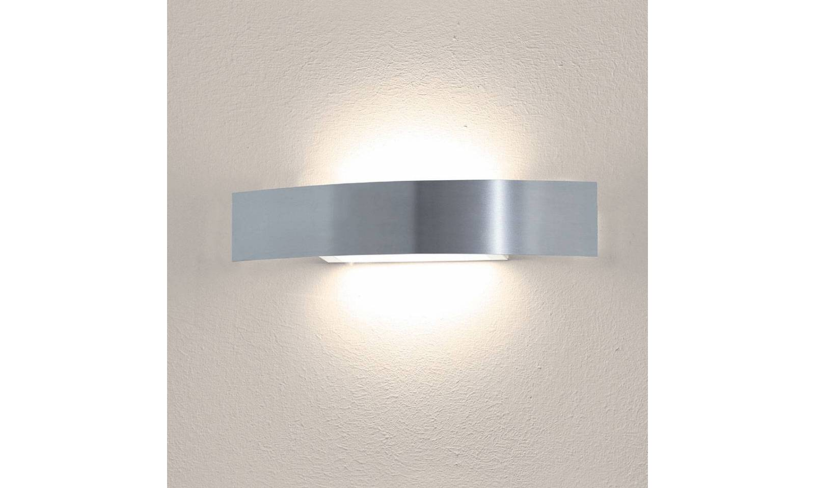Sikrea illuminazione applique moderno led in metallo seie clip for Lampade applique
