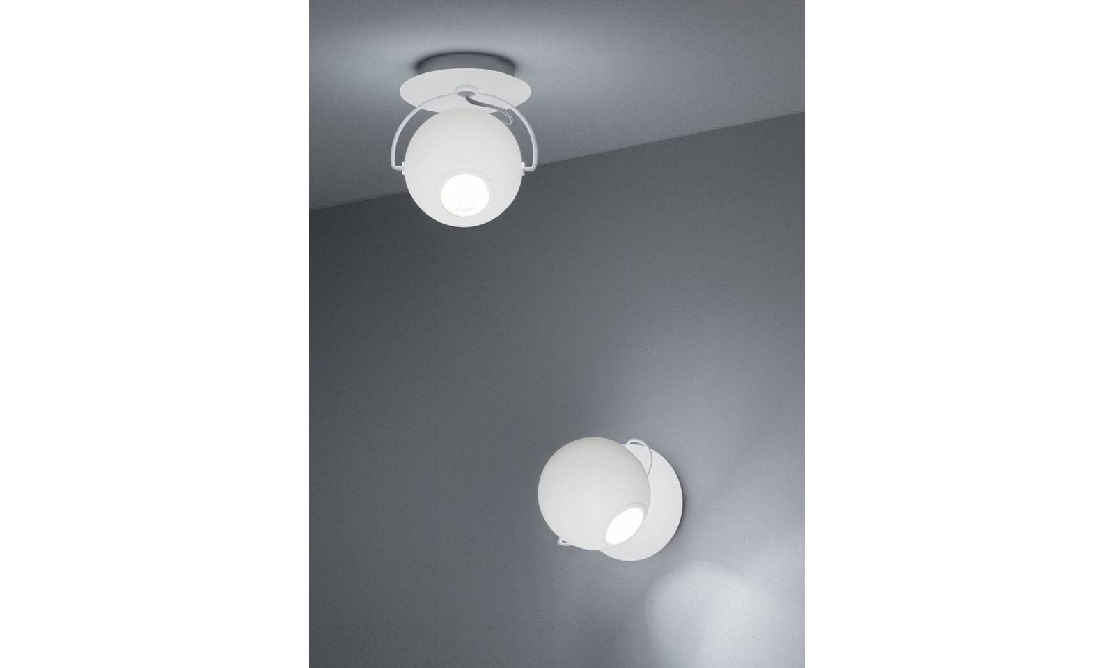 Sikrea applique moderno led in metallo serie iole