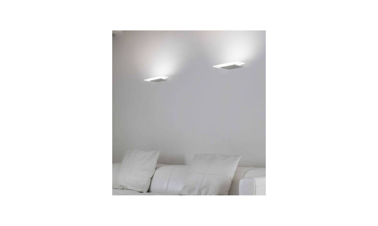 Linea light modern wall lamp dublight led lamp