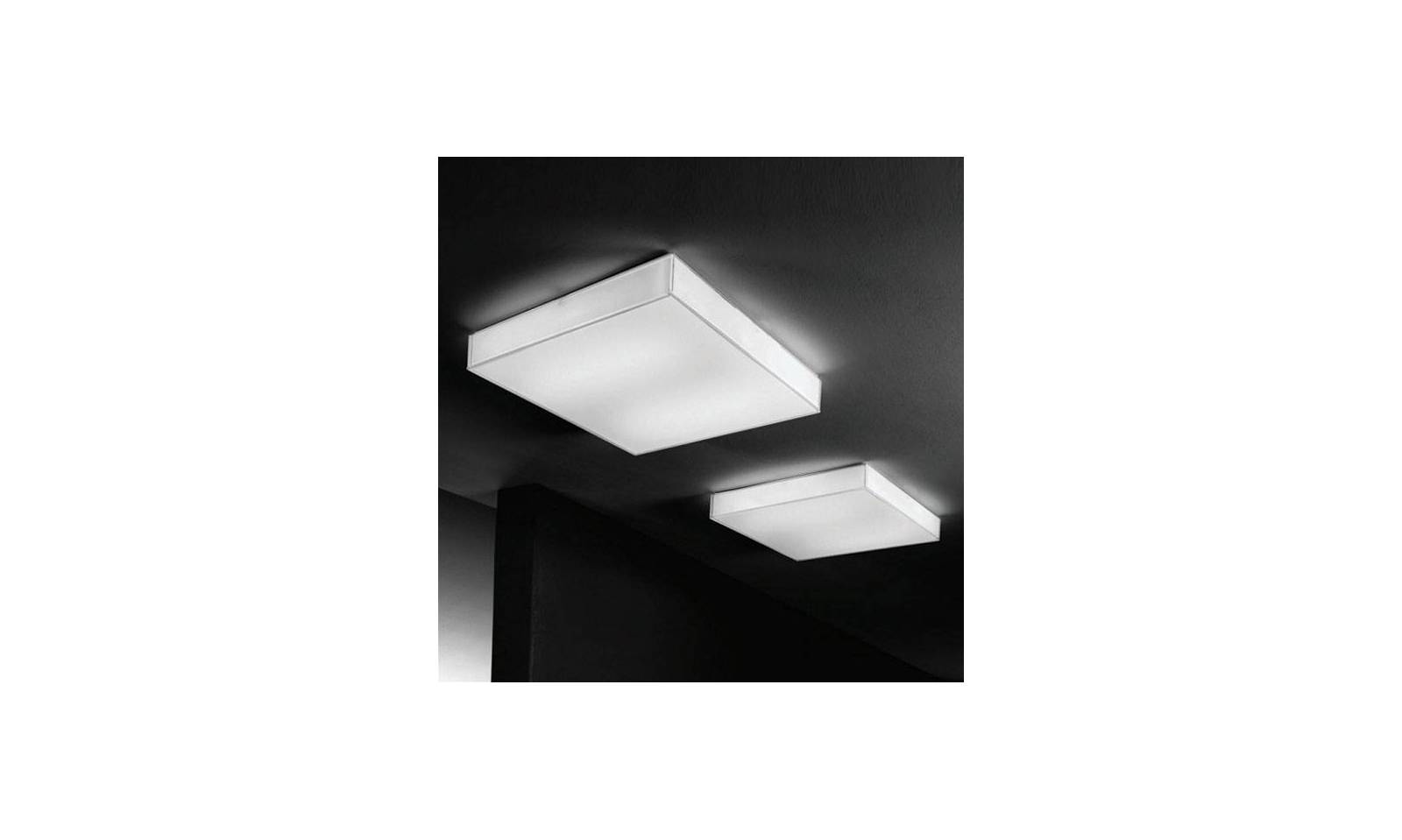 Plafoniere Per Box : Linea light plafoniera moderna in metallo serie box