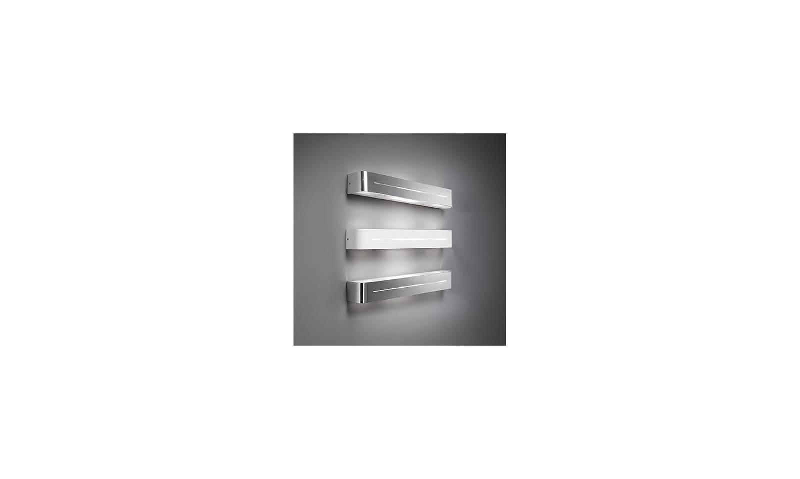 Ideallux applique moderno in metallo serie posta