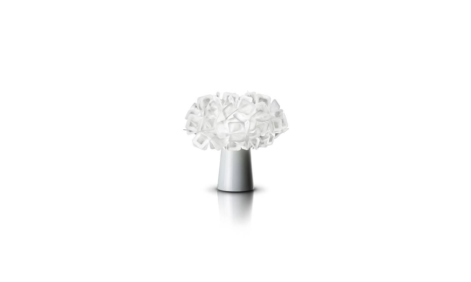 Slamp lampada da tavolo di design in opalflex serie clizia for Lampada da tavolo di design